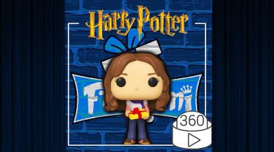 Figura Funko POP Hermione Granger 123 | Funko Harry Potter Navidad | Video 360º