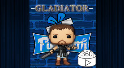 Figura Funko POP Maximus - Máximo 857 | Funko Gladiator | Video 360º
